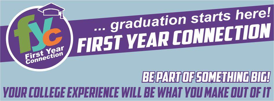 FYC banner - Graduation starts here