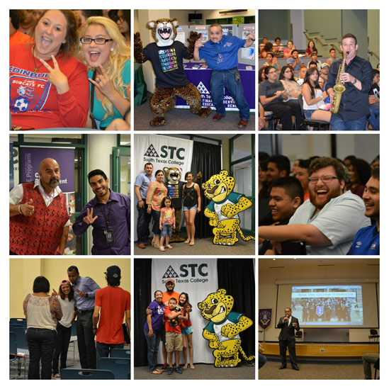 Collage of students - Graduation Starts at the FYC!