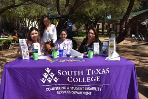 Counseling & Student Disability Services Department staff info table