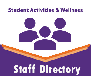 Student Activities and Wellness Staff Directory